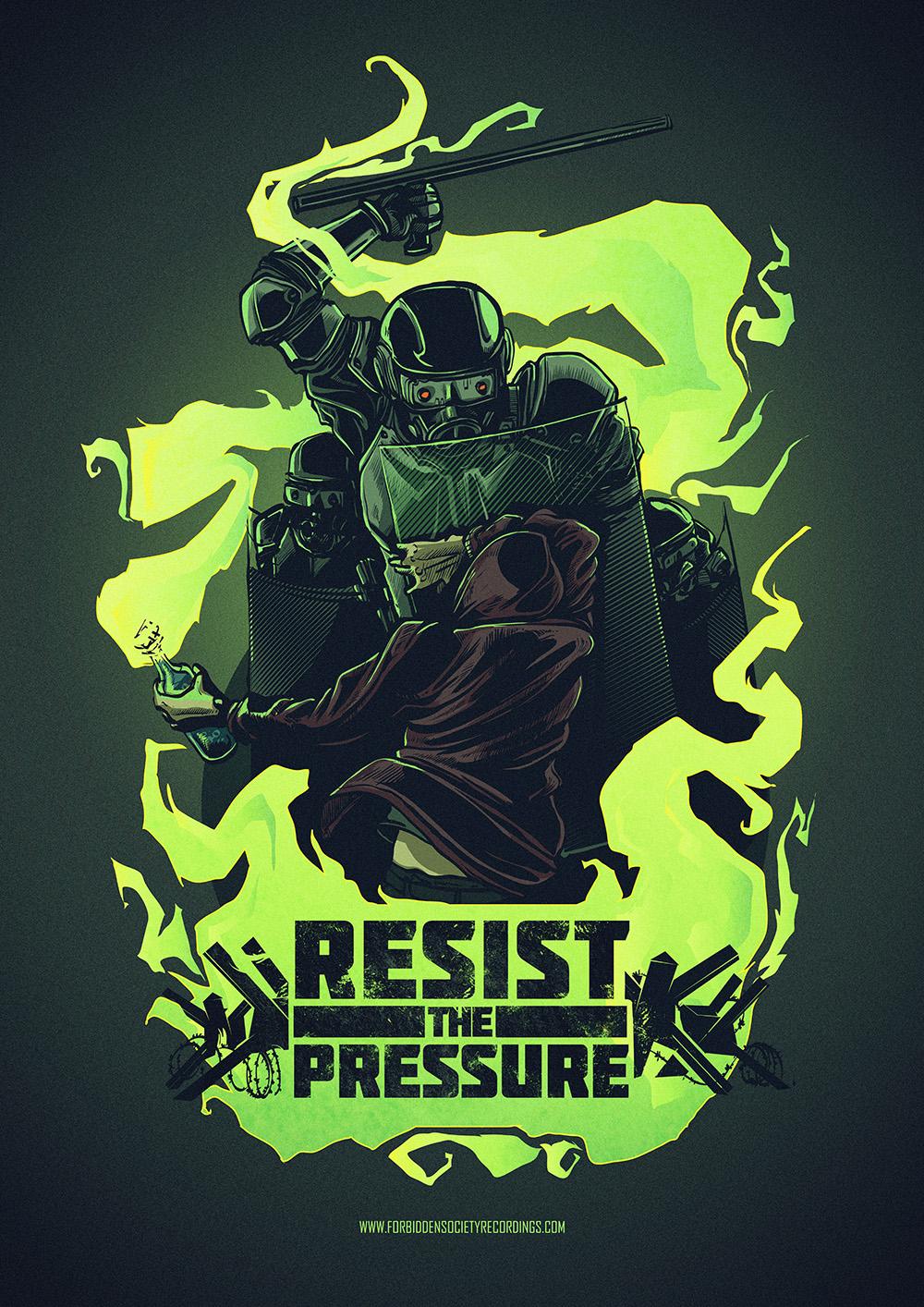 Basseater poster illustration